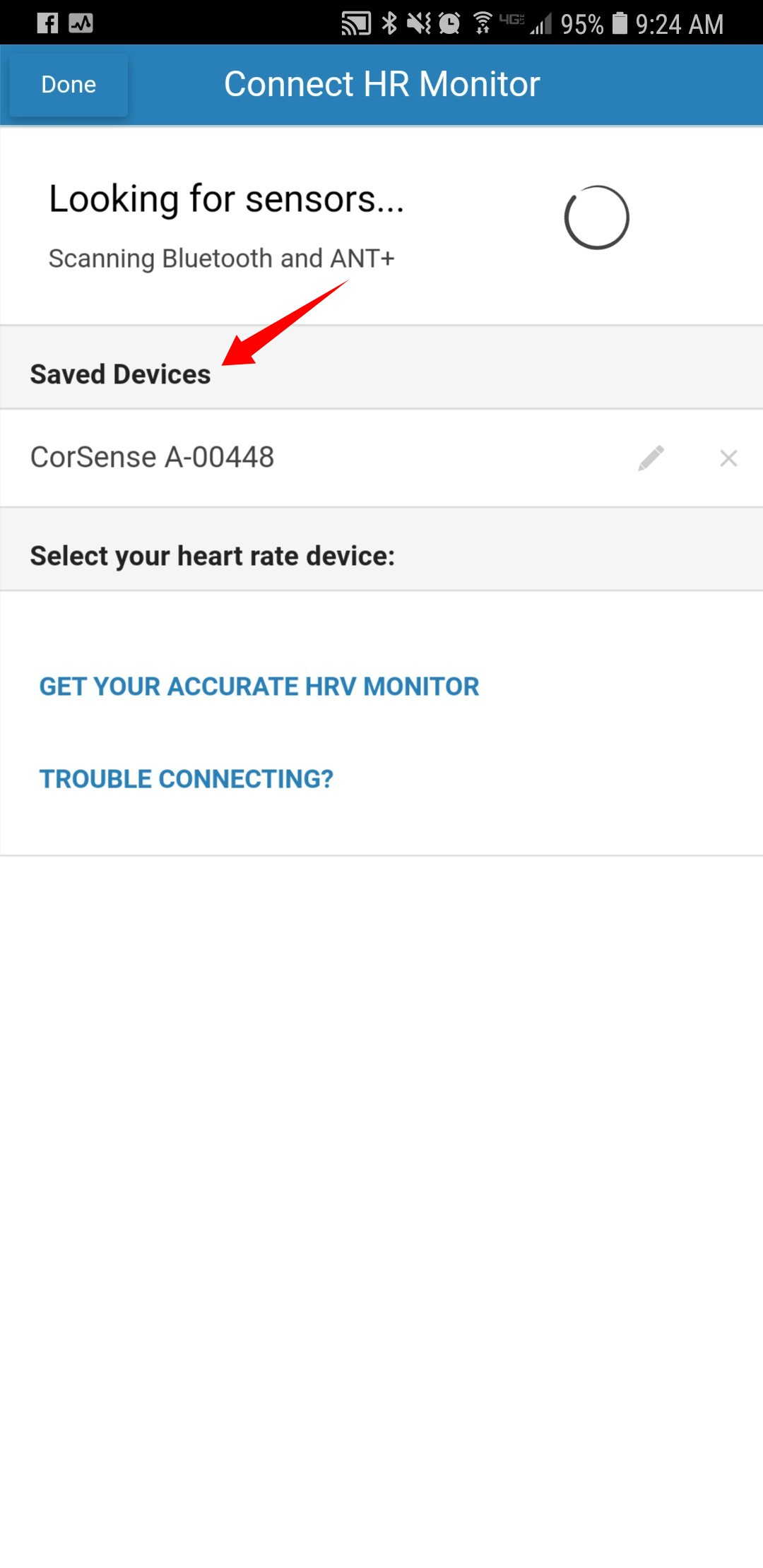Trouble Connecting Heart Rate Monitor and Bluetooth Issues