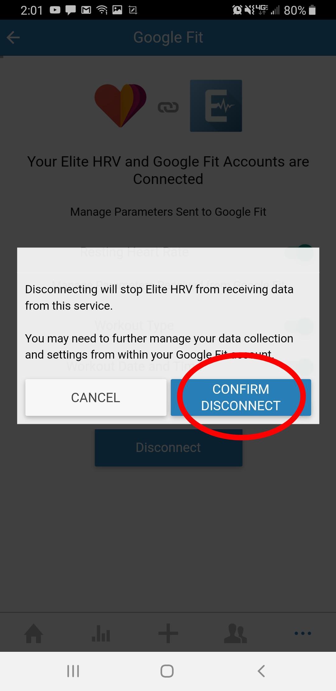 Elite HRV not pulling data from integrated apps - Elite HRV