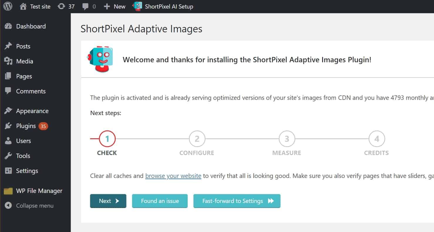 شرح اضافة shortpixel لزيادة سرعة موقعك