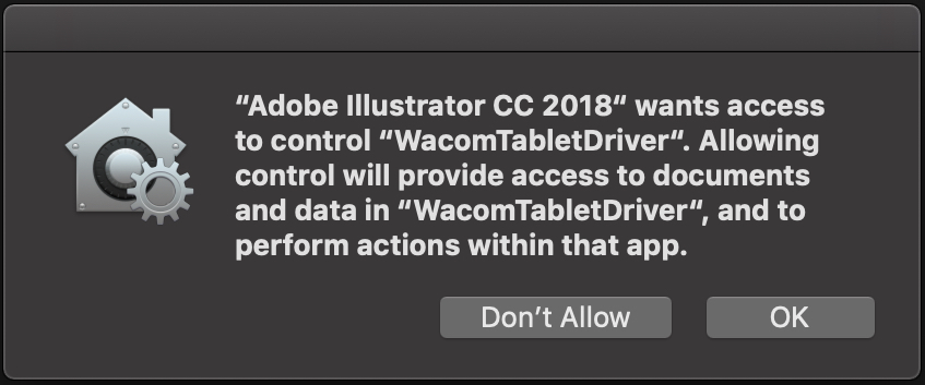 Using Adobe Illustrator and Mac OS Mojave - Astropad Knowledge Base