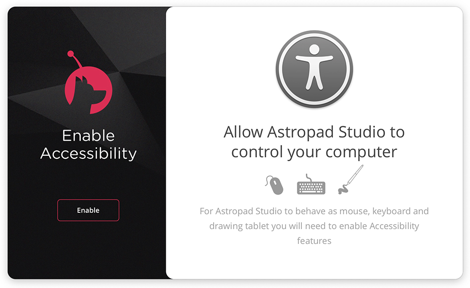 Astropad Studio - Enable Accessibility