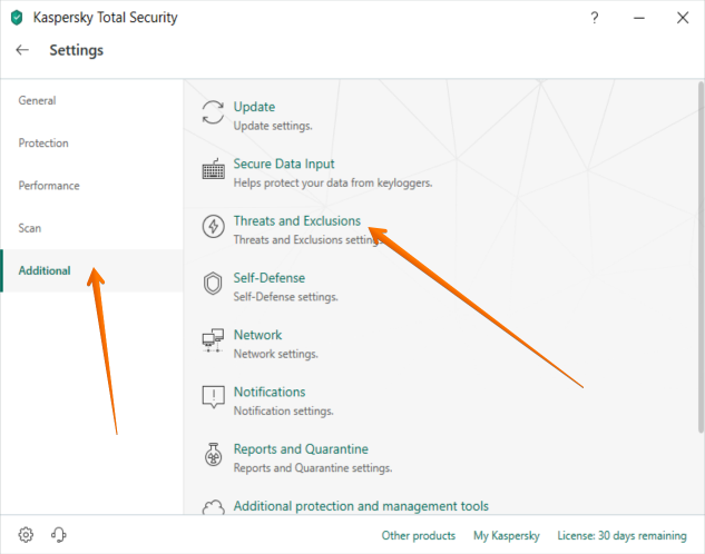 how to enable kaspersky chrome extensions