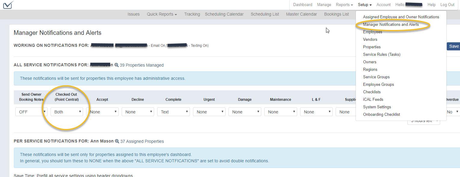 Point Central Integration and Setup - VRScheduler Knowledge Base
