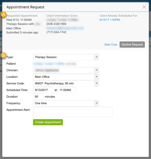 How to approve or deny client portal appointment requests appointmentrequestdialogg altavistaventures Choice Image
