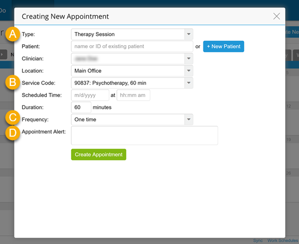 How To: Schedule Clinical Appointments - TherapyNotes Help Center