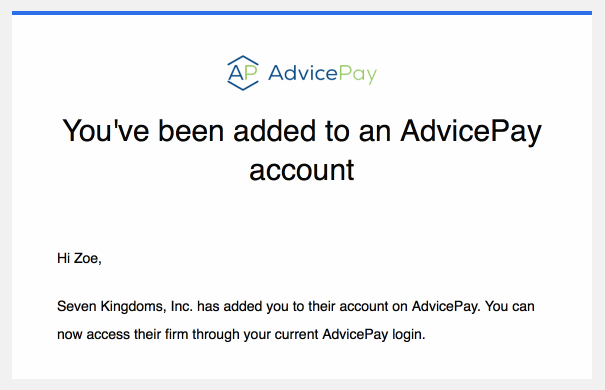 How to Access All AdvicePay Accounts Under One Login
