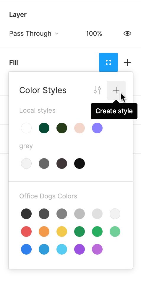 Creating Styles - Figma