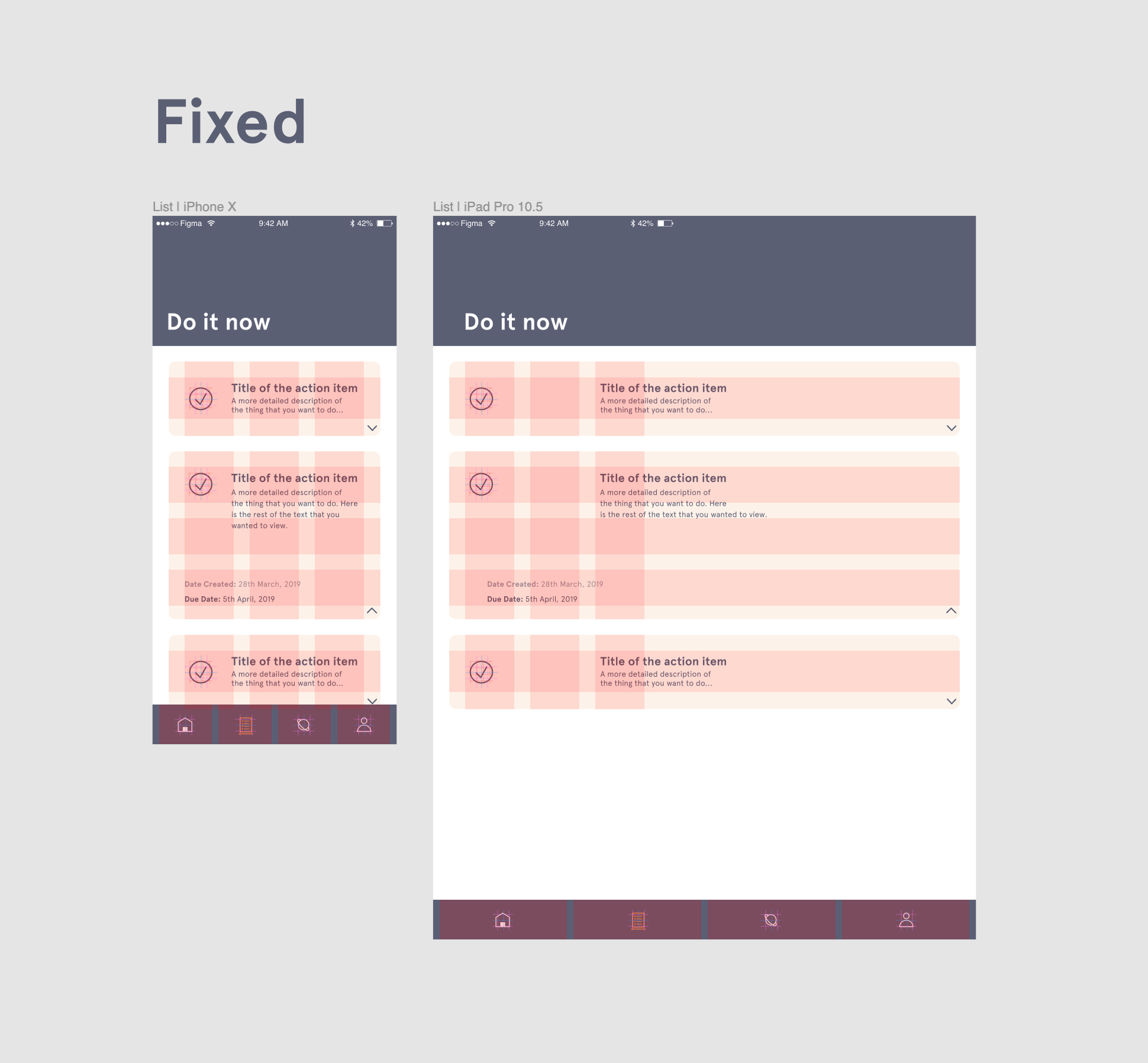 Using Layout Grids and Constraints - Figma