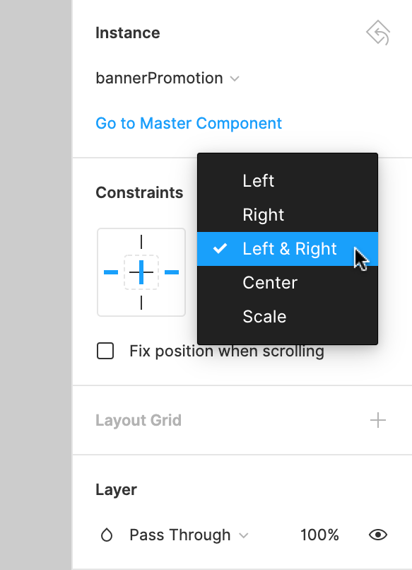 Using Constraints - Figma