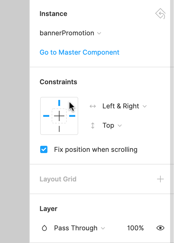 Using Constraints - Figma