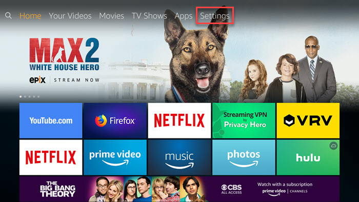How to Switch Amazon Accounts on Fire TV - Privacy Hero