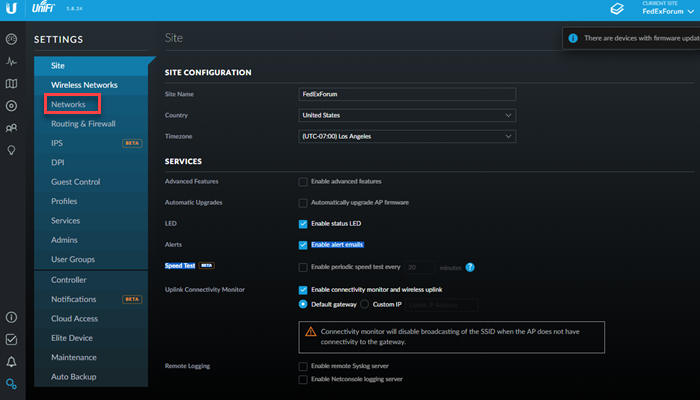 Configure your Ubiquiti UniFi router for Privacy Hero