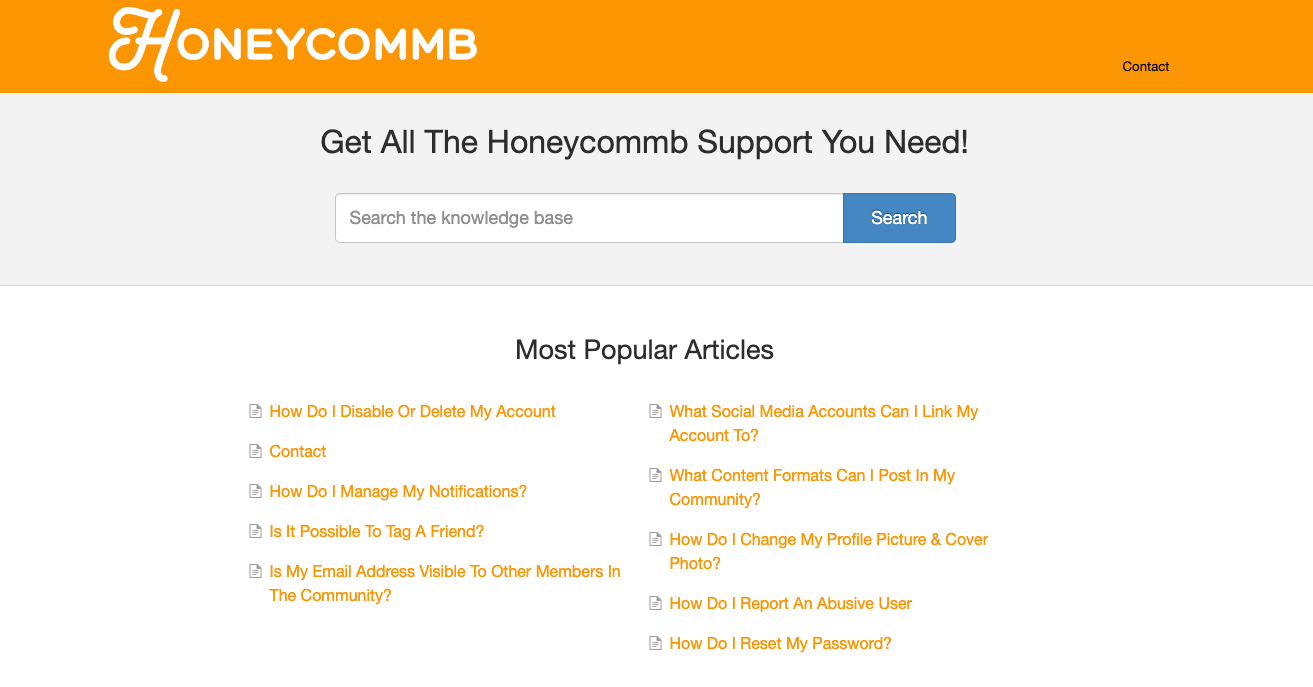 Honeycommb Control Center