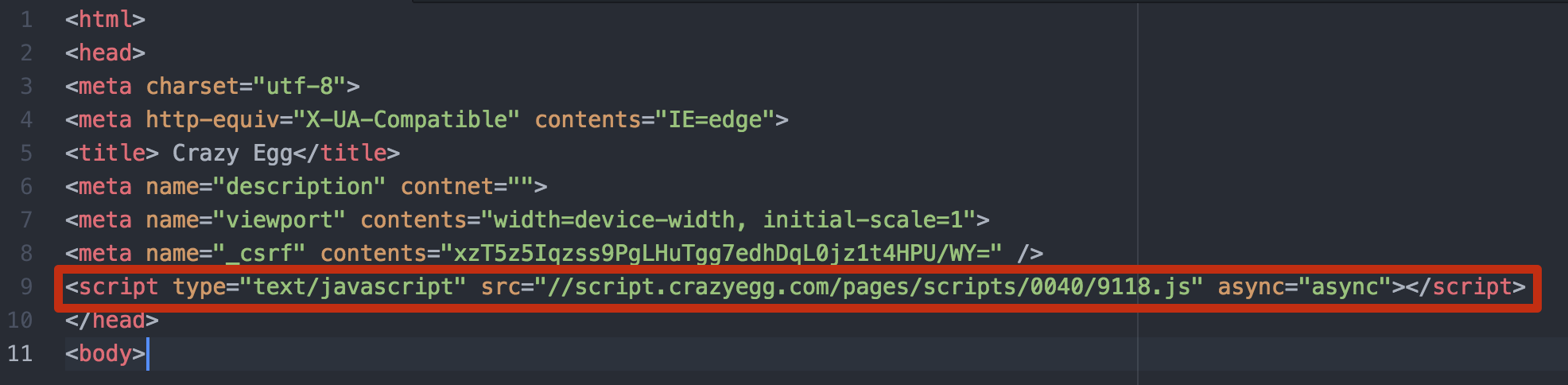 How To Manually Install Crazy Egg Crazy Egg Knowledge Base