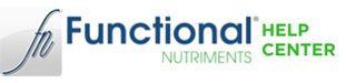 Functional Nutriments Help Center