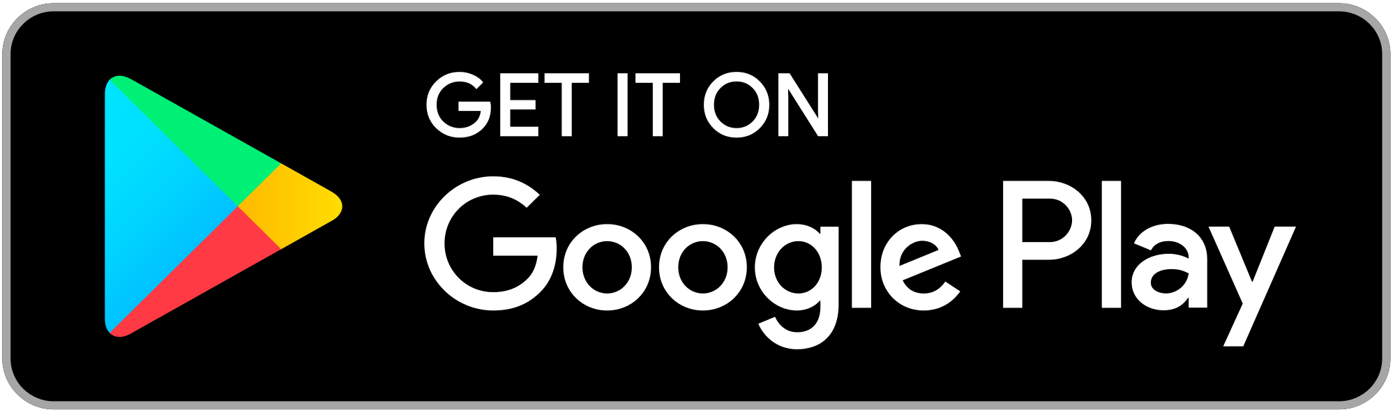 Button for the Google Play Store.