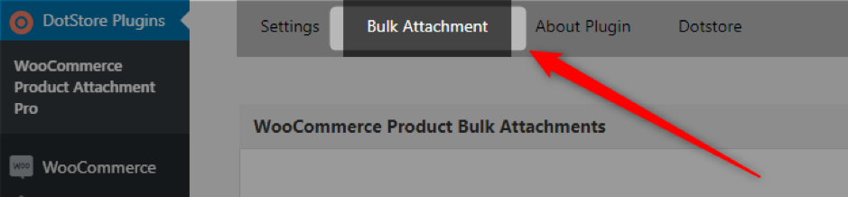 bulk attachment for WooCommerce