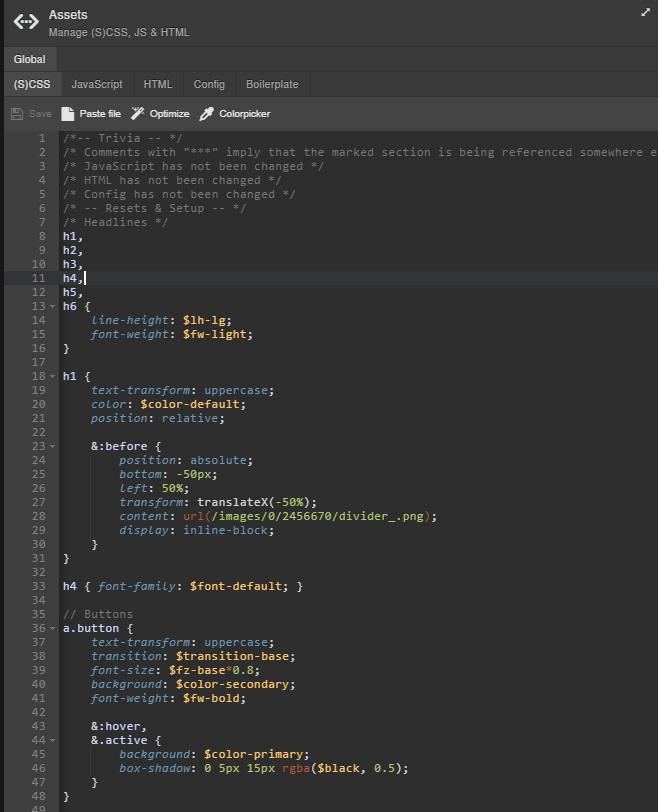 Use custom HTML, CSS, and JavaScript code - Sitejet Help