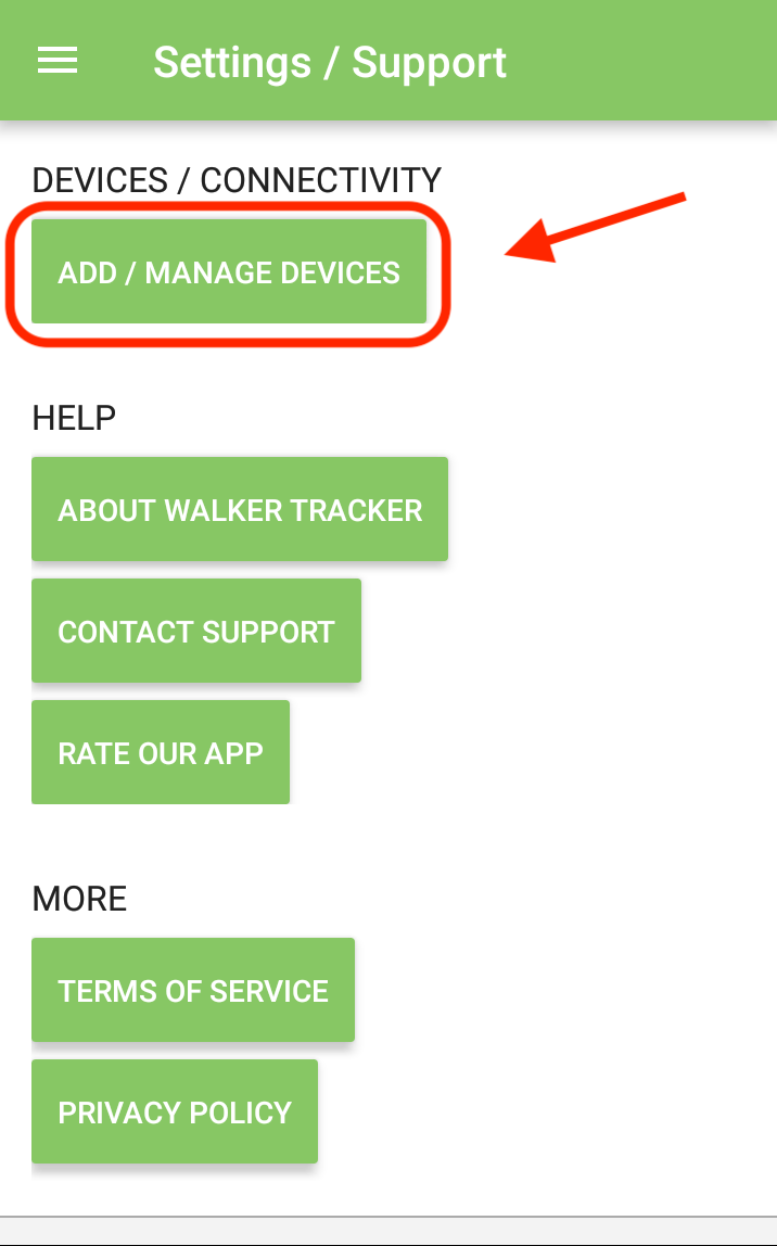 Google Fit Activation (Android) - Walker Tracker Knowledge Base