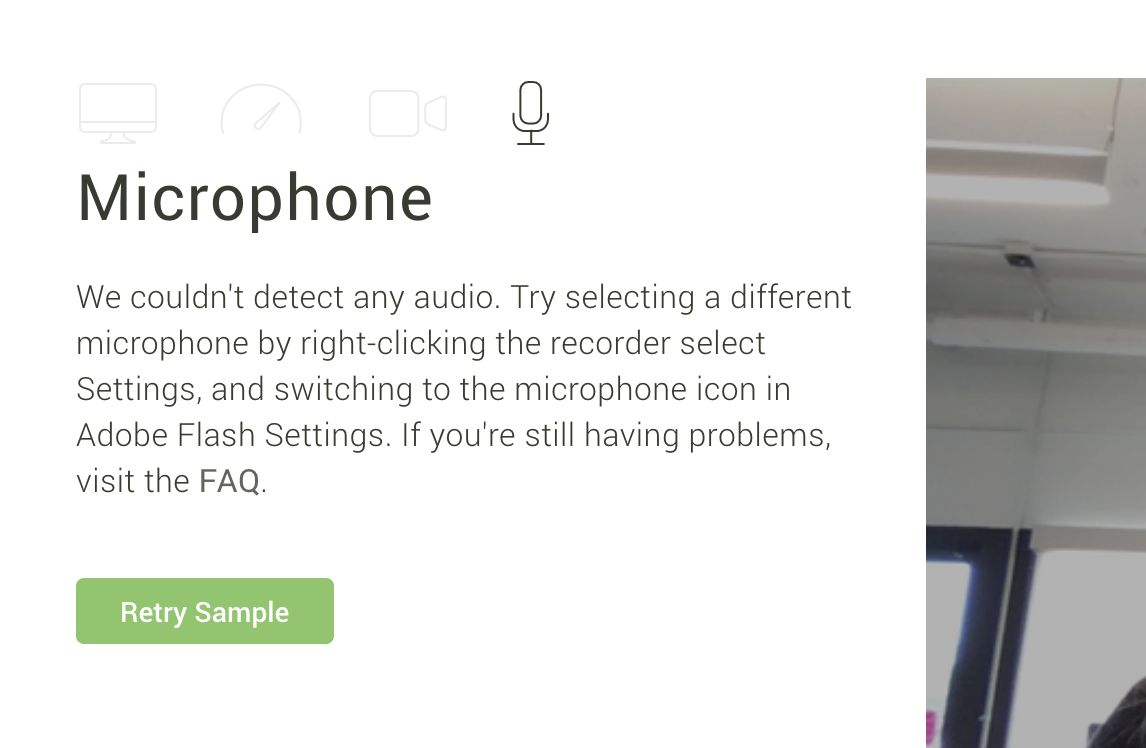 Microphone: Troubleshoot Common Issues - Applicant Help Center