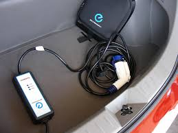 A charger in the trunk!