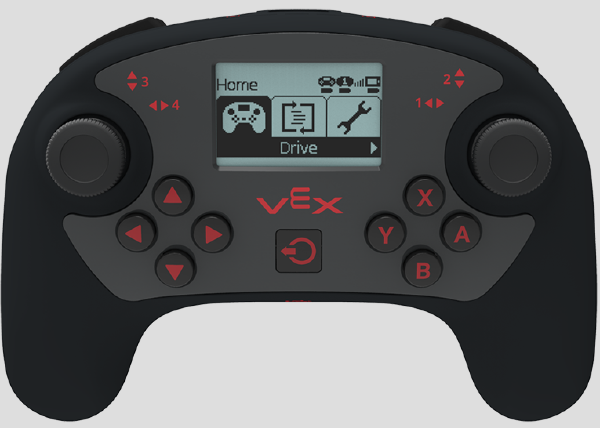 How the V5 Controller improves the user experience - VEX Robotics