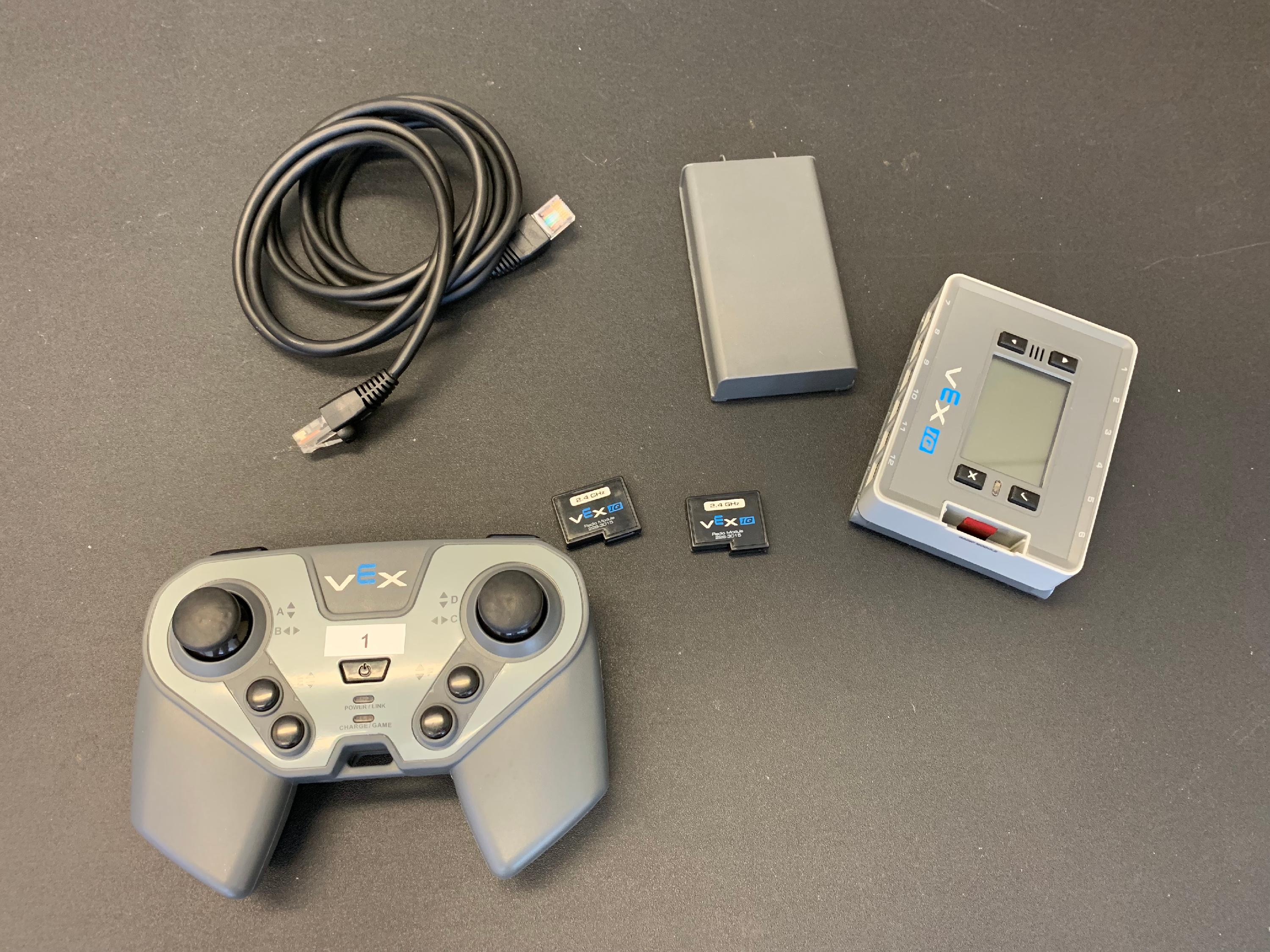 How to Pair the VEX IQ Robot Brain with the VEX IQ Controller for