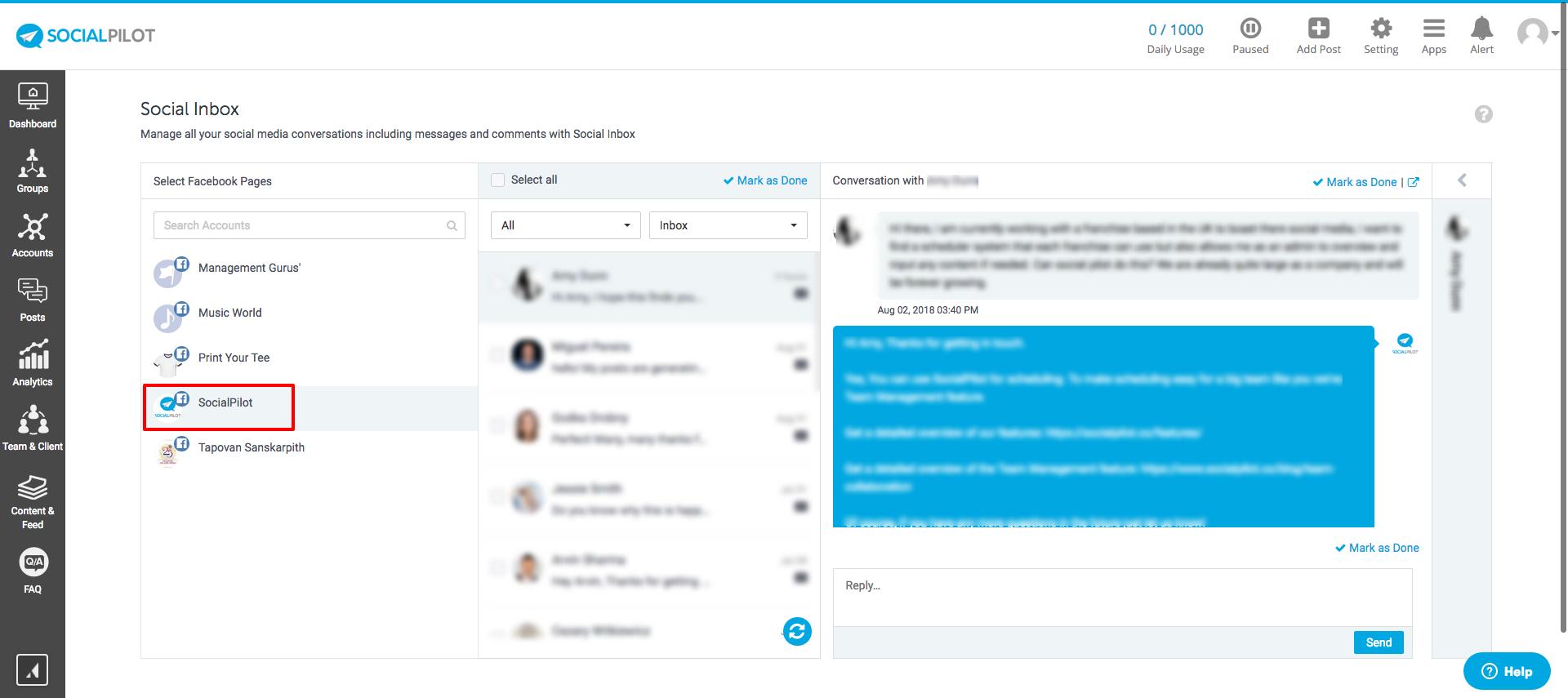 What is Social Inbox? - SocialPilot Help