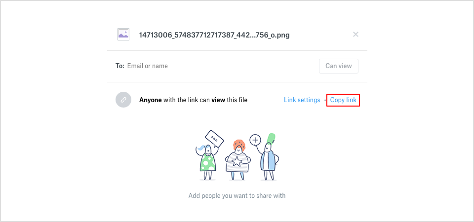 How to create a public URL of your images while creating a