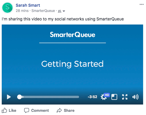 How Will My Video Look When Published? - SmarterQueue Support