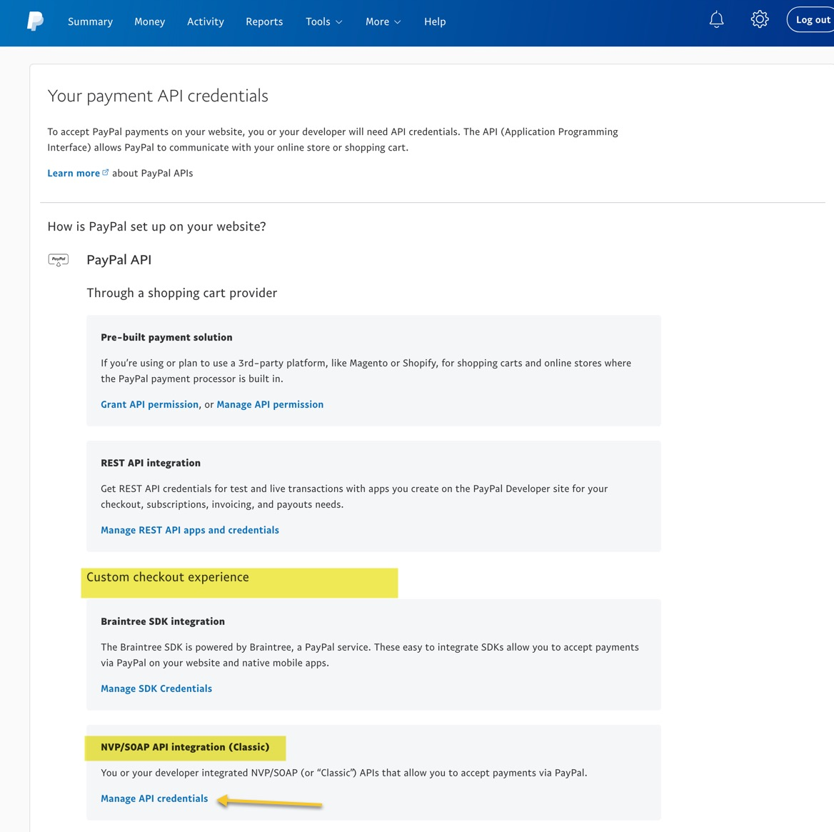 Payment Option Setup: Paypal - Powersports Support Knowledge