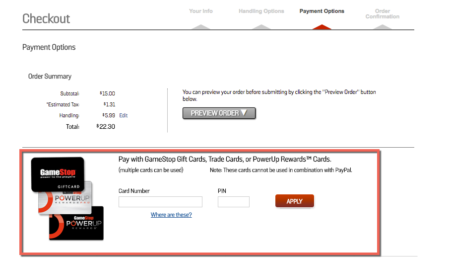 how to use gamestop gift card online | Cardss co