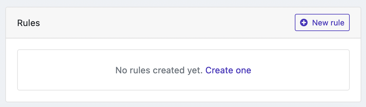 Statuspal> PagerDuty integration empty rules