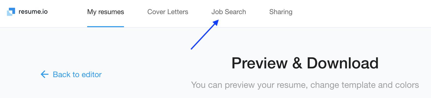 how do i search and apply to jobs on resume io resume io faq