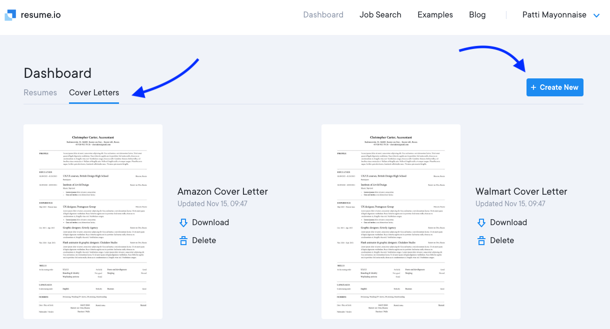 How do I create a cover letter? - Resume.io FAQ