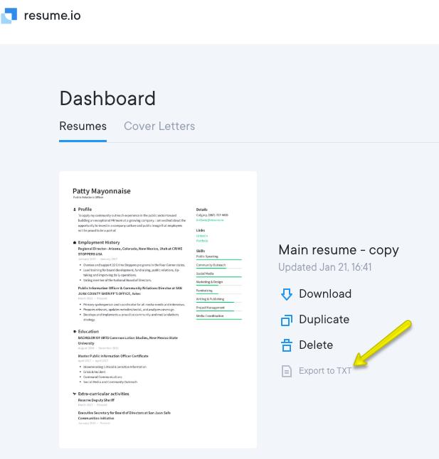 How can I use Resume io for free? - FAQ · Resume io