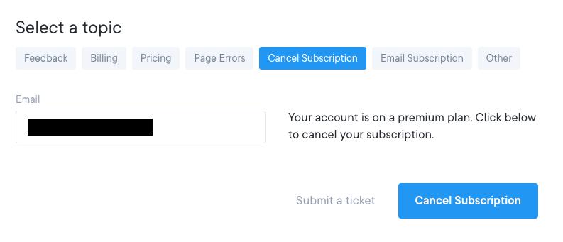 How do I downgrade, cancel, or delete my account? - FAQ