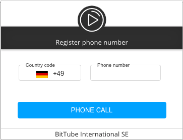 Create and verify your account - BitTube Knowledge Base