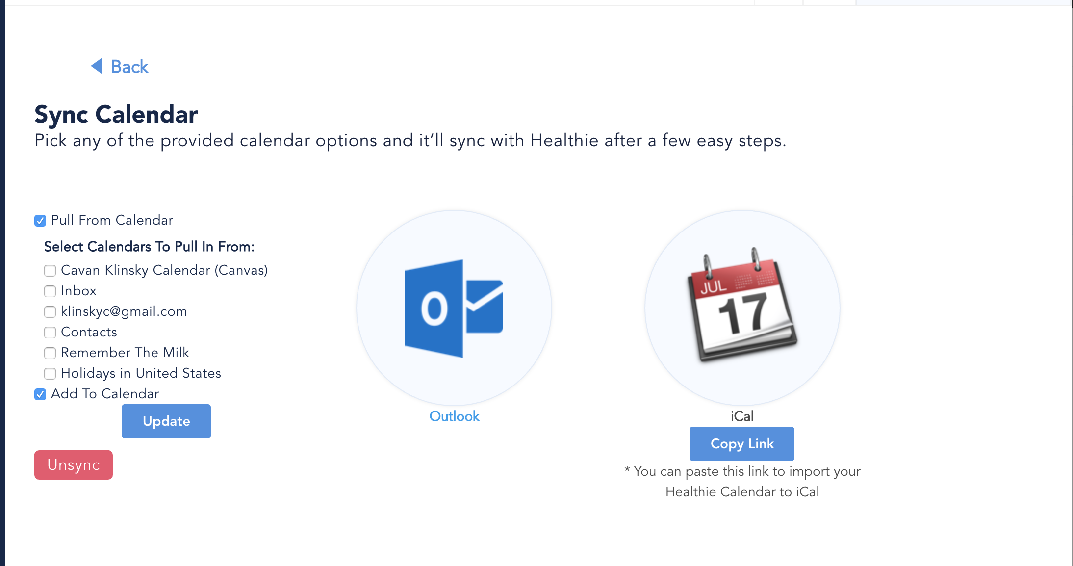 Google Calendar Has Stopped Syncing - Healthie Software Support