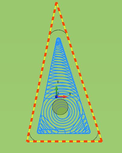 SimplexCAM Adaptiv (Trochoidal) Schruppen Schlichten