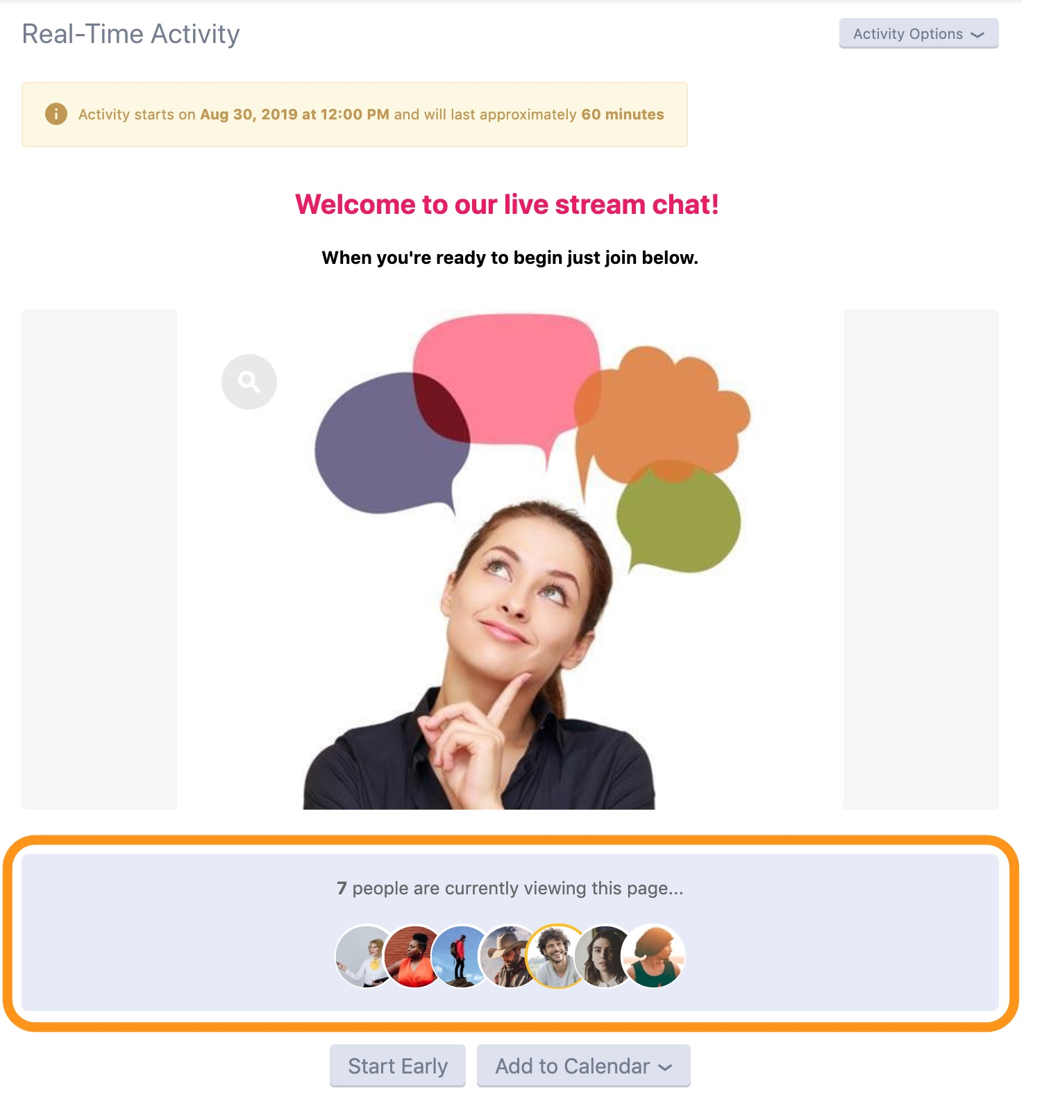 7 room live chat Video Chat