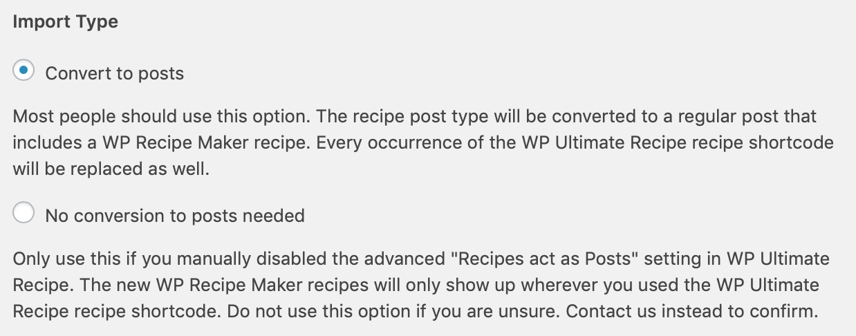 Import from WP Ultimate Recipe - Bootstrapped Ventures Knowledge Base