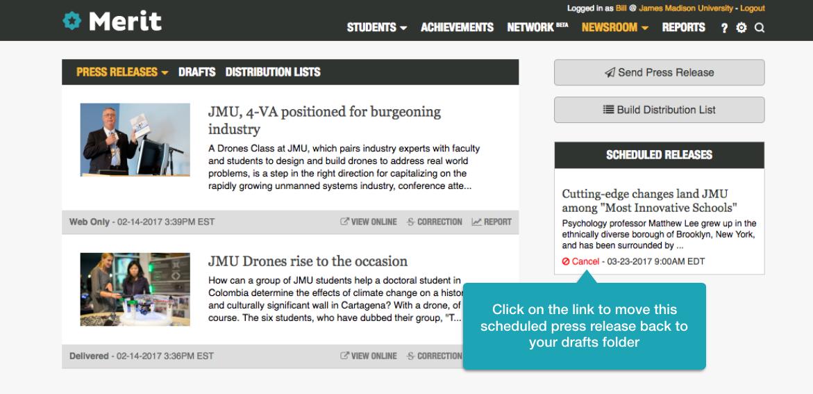 Newsroom FAQ - Merit Customer Knowledge Base