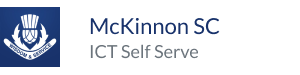 McKinnon IT Self Serve