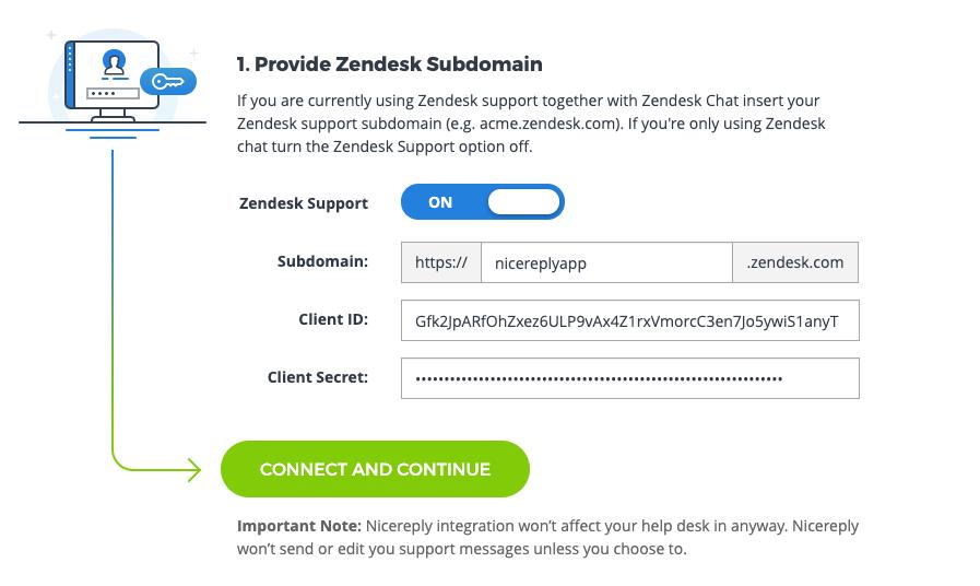 CSAT/CES/NPS trigger distribution in Zendesk chat