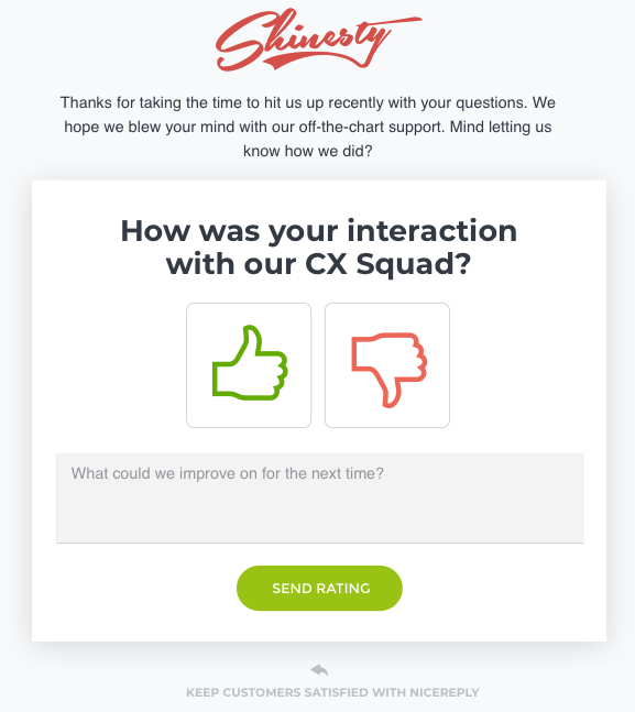 Introduction to Zendesk integration - Nicereply Help Center