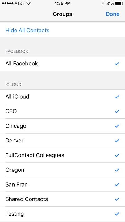 Duplicates on iPhone, iPad, and Android - Contacts+ Support