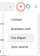 Importing, exporting, and sharing contacts - Contacts+ Support