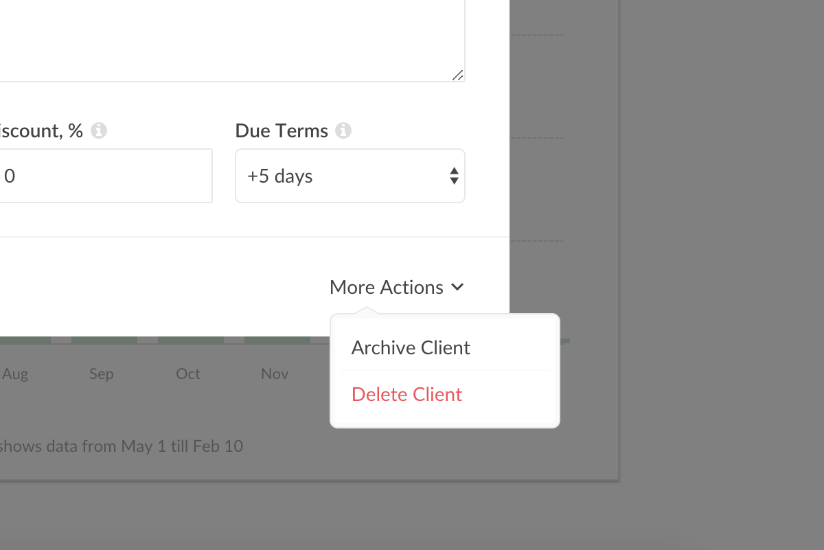 Manage clients - Everhour Knowledge Base
