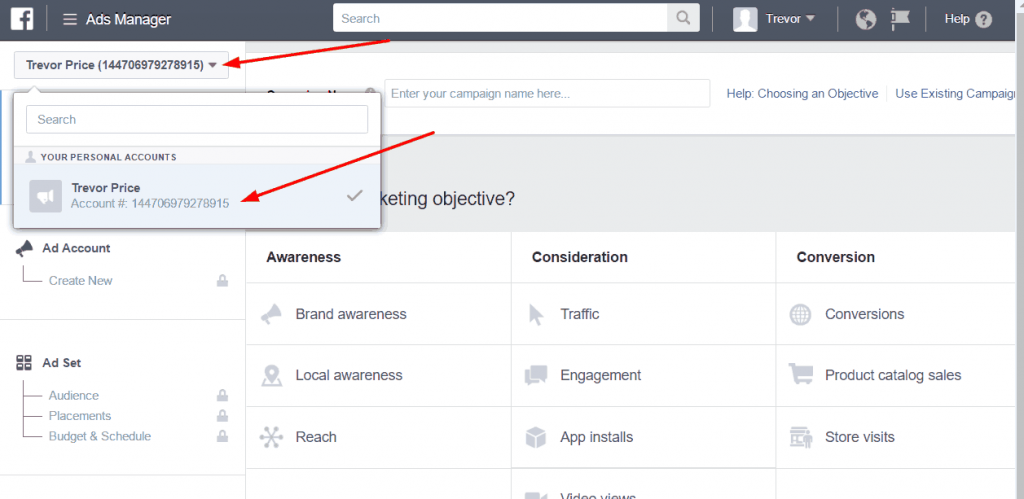 Find Your Facebook Ad Account ID - Sky Sprout Support
